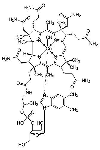 Витамин В12: цианокобаламин
