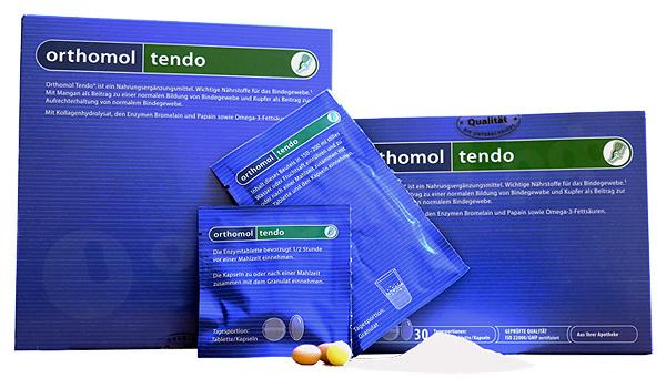 Ортомол Тендо - более узконаправленный препарат, предназначенный специально для поддержки связок и сухожилий.