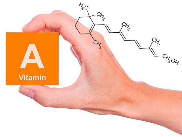 Признаки нехватки витамина а