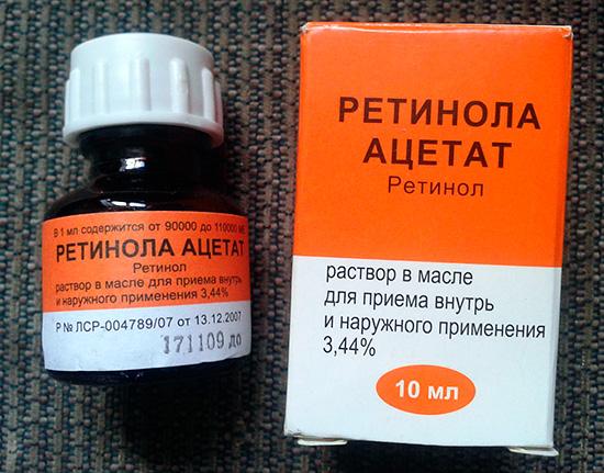 аллергия на ретинол на лице после пилинга