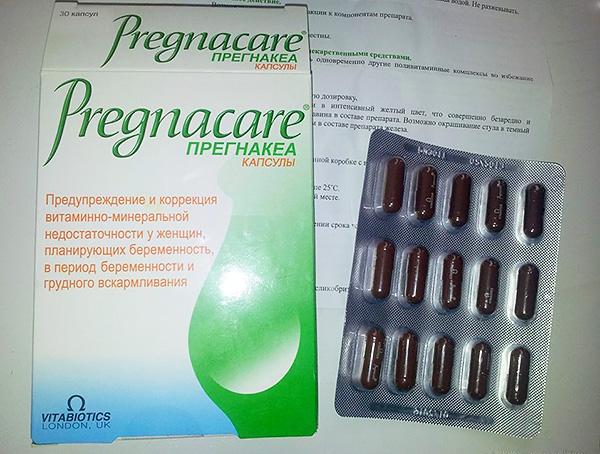 Фолиевая кислота для беременных и витамин е для 93