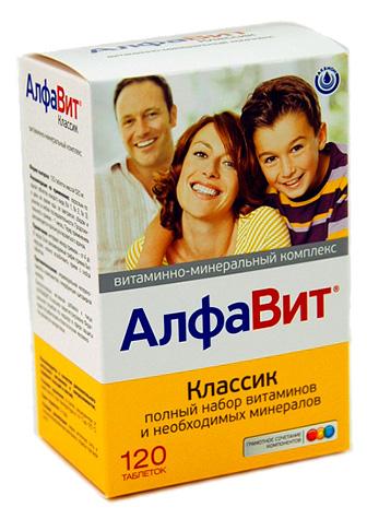 витамины алфавит для взрослых инструкция