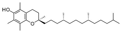 Токоферол (витамин Е): химическая структура
