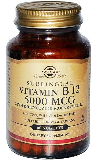 Витамин В12 в таблетках от