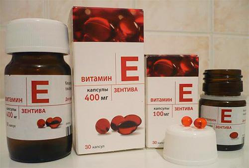 витамин е 400 мг инструкция по применению в капсулах